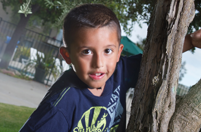 Five-year-old Cristian Serrano is one of more than 100 local children with little-known Kawasaki disease.