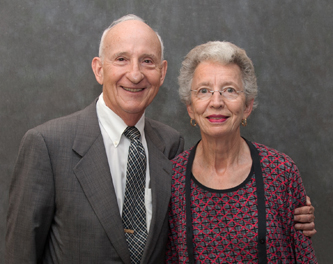 Ernest and Evelyn Rady