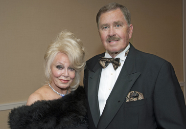 Phyllis (Chairman of the 108th Anniversary Charity Ball – For the Love of a Child) and John Parrish