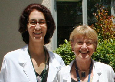 Dr. Adriana Tremoulet and Dr. Jane Burns