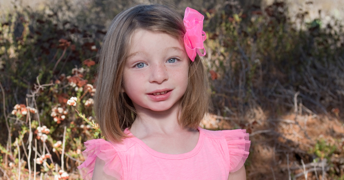 Kate looks the picture of health thanks to a Rady Children's doctor, who diagnosed and treated her rare disease.